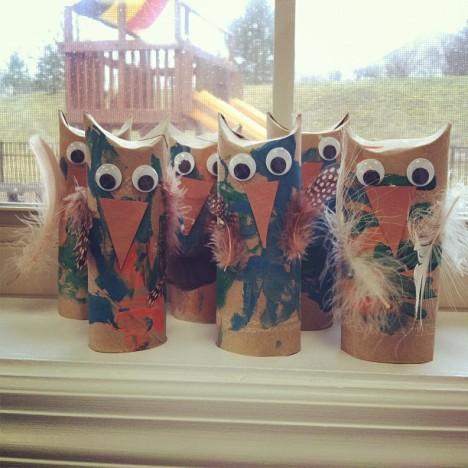 Owl-standing!